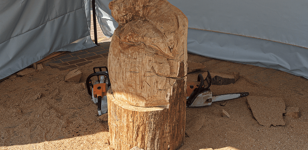 timber for carving